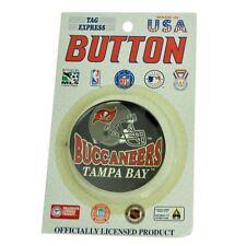 NFL Football Tampa Bay Buccaneers Team 2 Piece Set Vintage Fan Pin Button Helmet