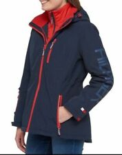 NEW!! Tommy Hilfiger Womens Navy/Fire 3-In-1 Systems...