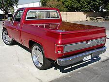 1973-1987 Chevy GMC C/K Classic Truck Fiberglass Hard Shell Bed Tonneau Cover