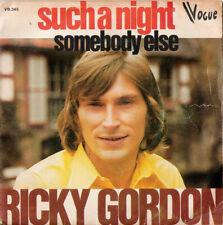 45T  Ricky Gordon – Such A Night / Somebody Else