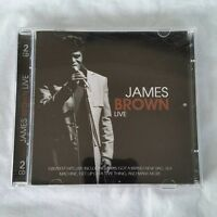 James Brown Live CD Greatest Hits Compilation including remixes (2-discs)