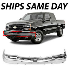 New Chrome Front Bumper Face Bar For 2003 2007 Chevy Silverado Avalanche Truck Fits More Than One Vehicle