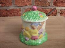 Royal Winton Rare Pixie Preserve Pot with Spoon- Excellent Condition