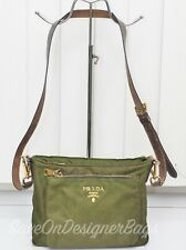 Prada BT0693 Tessuto Saffiano Cross-body Sling Shoulder Bag