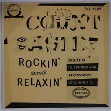 """COUNT BASIE: Rockin' and Relaxin' EPIP 7"""" Jazz Mono 45 EP Jim Flora Cover Art"""
