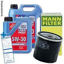 6L Liqui Moly Special Tec LL 5W-30 Öl Motoröl + MANN Ölfilter für Mercedes / VW