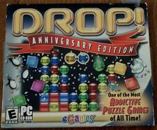 eGames DROP ANNIVERSARY EDITION, PC Video Game - BRAND NEW IN PACKAGE