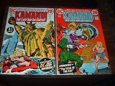 Kamandi 1-12 complete high grade run