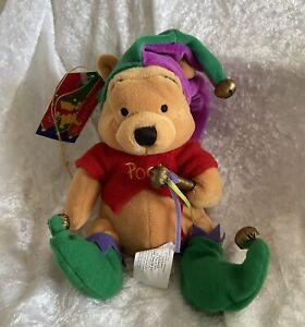 Disney Winnie the Pooh Beanie - Jester Pooh
