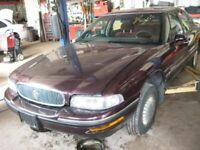 Passenger Right Headlight Without Cornering Lamps Fits 97-99 LESABRE 339517
