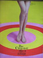 PUBLICITÉ DE PRESSE 1966 BAS CHESTERFIELD LILION EN VENTE PARTOUT