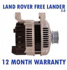 LAND ROVER FREELANDER (LN) 2.0 TD4 4X4 2000 2001 2002 - 2006 ALTERNATOR