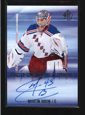 MARTIN BIRON 2015/16 SP AUTHENTIC SIGN OF THE TIMES AUTOGRAPH AUTO AB9644