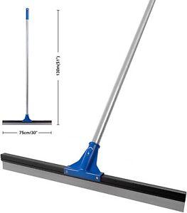 "DSV Standard Professional Floor Scrubber Squeegee | 75 cm (30"") -- 51""Long Steel"