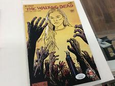 EMILY KINNEY Walking Dead Authentic Signed 163 Comic Sketch Beth JSA COA