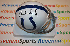 Andrew Luck Autographed Indianapolis Colts Mini Helmet PSA W10093