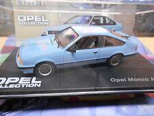 Modellauto unbespielt Blau Opel Monza A GSE 1:43
