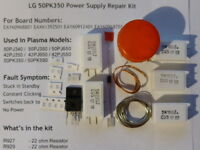 21pc REPAIR KIT for LG 50PK350 dead standby power supply EAY60968801 EAX61392501
