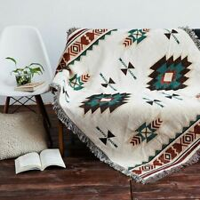Ethnic Tribe Navajo Cotton Sofa Throw Decorative Rug Aztec Tapestry 90x90 90x150