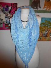 Damen-Dreiecktuch-Stola-Schal,Handarbeit,Verlaufswolle,NEU