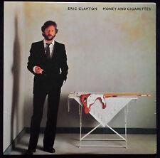 """ERIC CLAPTON """"MONEY & CIGARETTES"""" DUCK RECORDS 1ST PRESS LP TOUR BOOK & TICKET"""