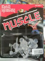 SDCC Super7 Iron Maiden Clear M.U.S.C.L.E. Muscle Men 3-Pack Mini Figures