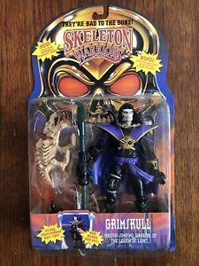 1994 Playmates Skeleton Warriors GRIMSKULL Action Figure NIP