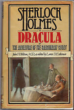 "SHERLOCK HOLMES VS. DRACULA-JOHN WATSON / ""EDITED"" BY LOREN ESTLEMAN-1ST UK-1978"