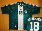 sale KLINSMANN Deutschland GERMANY World 1998 trikot away shirt jersey fussball