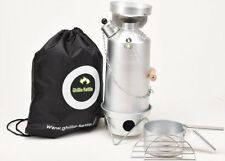 Ghillie Kettle 1.5L Adventurer Silver Anodised Full Kit