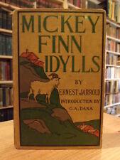 Ernest Jarrold Mickey Finn Idylls 1899 First Edition