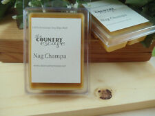 Nag Champa Scented Soy Wax Clamshell Melt Tart- 2wks of Fragrance
