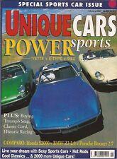 Unique Cars Feb 00 S2000 Boxster Z3 Vette 911 E-type HQ Stag Cord Historics
