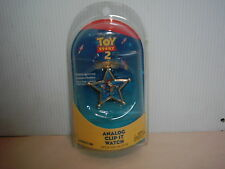 Toy Story 2 Rare Woody Battery Operated Analog Quartz Clip It Watch NIP