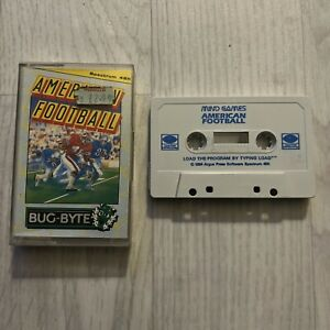 American Football - Bug-Byte Game for the Spectrum 48k, Great Condition