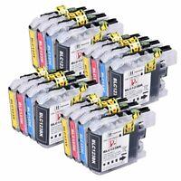 Lot de 16 cartouches d'encre compatibles LC123 / LC121 pour imprimantes Brother