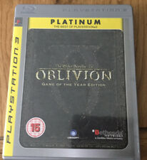 The Elder Scrolls: Oblivion With Map And Manual Sony Playstation 3