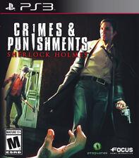Crimes & Punishments: Sherlock Holmes PS3 New PlayStation 3, Playstation 3