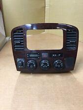 2003-2006 Suzuki XL-7 XL7 Grand Vitara Radio Bezel A/C Vent Dashboard Trim 03-06