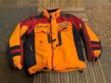 Mens Karbon Ski Snow Winter Jacket Coat Colorblock Multi Pocket Medium