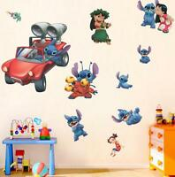 NEW Lilo & Stitch Removable Wall Stickers Decal Kids Room Home Decor US Seller