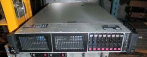 HP DL560 G10 Gen 10 Server-4x Xeon Gold 6154 Eightteen Core 3GHz-512GB-6x 1.92TB