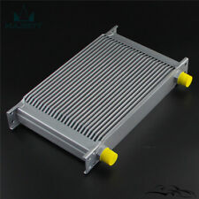 Universal AN10 25 Row Engine Transmission 248mm Oil Cooler Mocal Style Silver