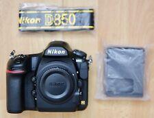Nikon D850 45.7MP Digital SLR-Negra (solo Cuerpo) 3k obturador Conde