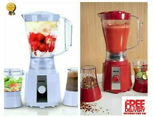 Geepas 3 in 1 Juicer Blender Chopper Mixer Smoothie Maker Coffee Spices Grinder,