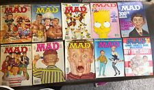 10 1990-91 MAD Magazines Gremlins Turtles Simpson's 300th Issue Madonna Tyson