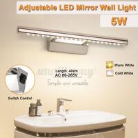 LED Spiegelleuchte Badezimmer Spiegellampe w/ Schalter Wandleucht