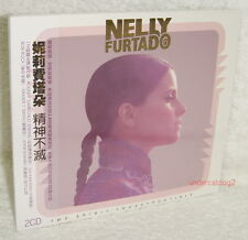 Nelly Furtado The Spirit Indestructible Taiwan Ltd 2CD w/OBI Digipak
