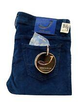 """JACOB COHEN  Size 34""""Waist  33""""Length P688 COMF Velvet Feel Blue Jeans RRP £399"""