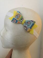 Disney~Toy Story~Forky~Synthetic Leather~Baby~Girl~Hair Bow~Headband